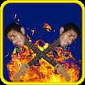 Guitarra humana icon