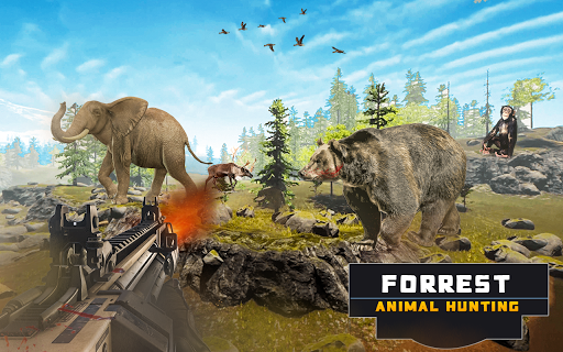 Forest Animal Hunting 2018 - 3D filehippodl screenshot 5