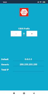 NetMask - Network Mask Calculator - náhled
