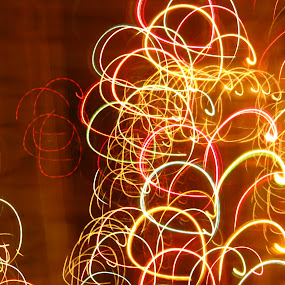 Pattern........ by Dipan Chaudhuri - Abstract Light Painting