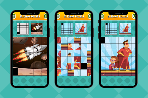 Sliding Puzzle screenshot 4