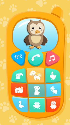 Baby Phone. Kids Game apkpoly screenshots 1