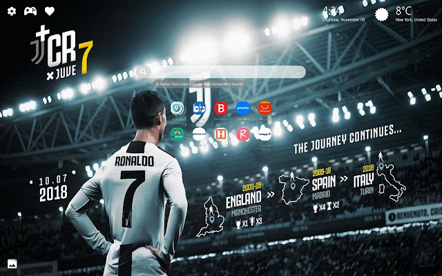 Ronaldo Juventus Wallpapers Hd New Tab