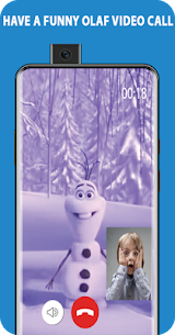 video call, chat simulator and game for snowman 2