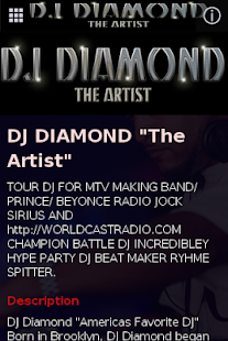 DJ DIAMOND the Artist- screenshot thumbnail