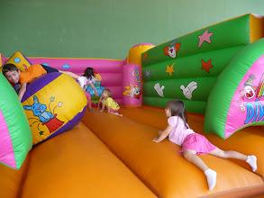 Photo: El parque infantil para los más pequeños fue el primer acto de las fiestas. Se instaló en el Polideportivo municipal durante la jornada del sábado 13 de agosto.