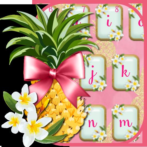 Pink Flamingos Pineapple Keyboard (app)