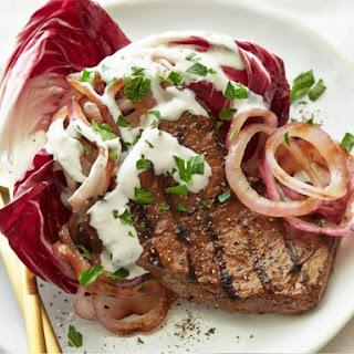 Garlic Cheese Sauce Steak Recipes.