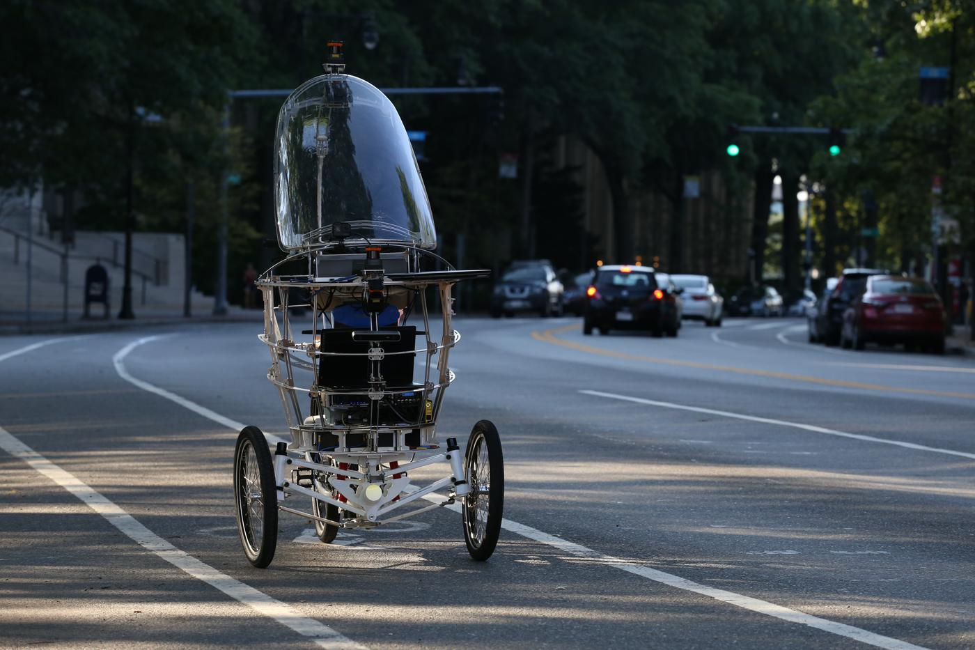 Bicicleta autônoma: PEV