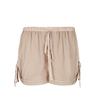 Photo: Quartet Gloss Shorts>>  UK>http://bit.ly/O2fVov US>http://bit.ly/RNmqSB  The Quartet Gloss Shorts are made using specially sourced Japanese fabrics. Featuring details inspired by vintage garments with a Parisian feel, this style uses lace inserts and paneling to accent the garment.