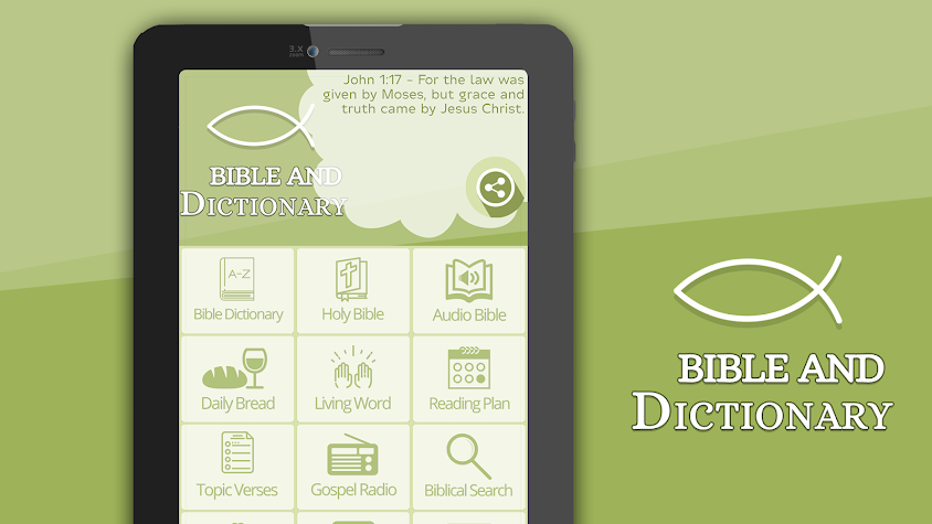 Bible and Dictionary Screenshot