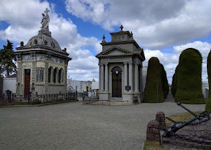 Photo: Mausoleums in the municipal cemetery in Punta Arenas