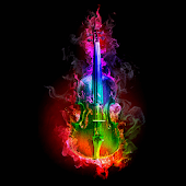 Rocking Guitar Live Wallpaper