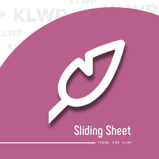 Sliding Sheet for KLWP