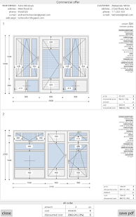 PVC Windows Calculator - náhled
