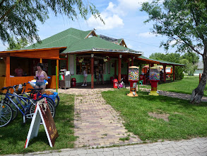 Photo: Second beach bar at Lake Velence, Velence, Hungary.