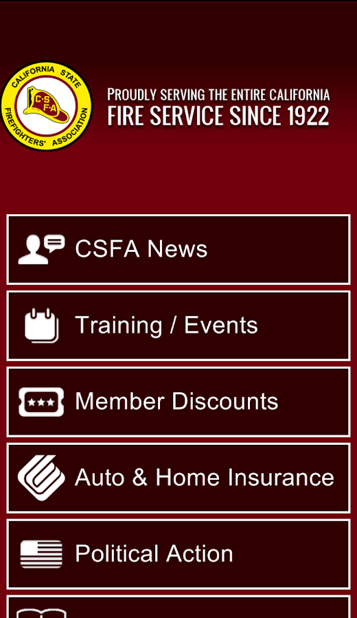 CSFA Official App- screenshot