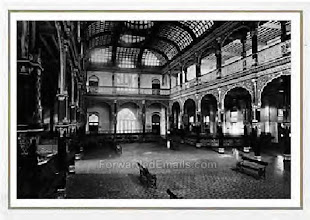 Photo: Interior of Bank of Madras