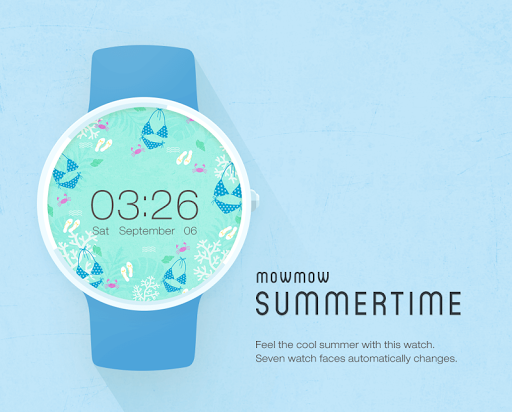Summertime watchface by Mowmow