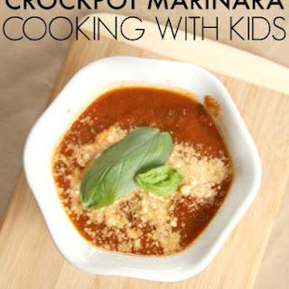 Hidden Vegetable Crockpot Marinara Sauce