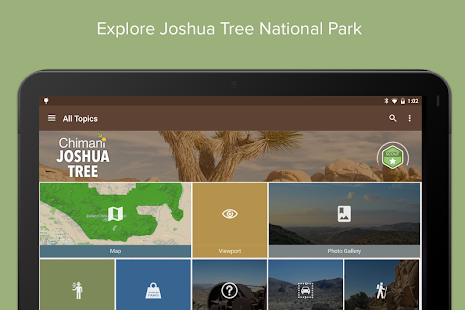 Joshua Tree Ntl Park: Chimani- screenshot thumbnail