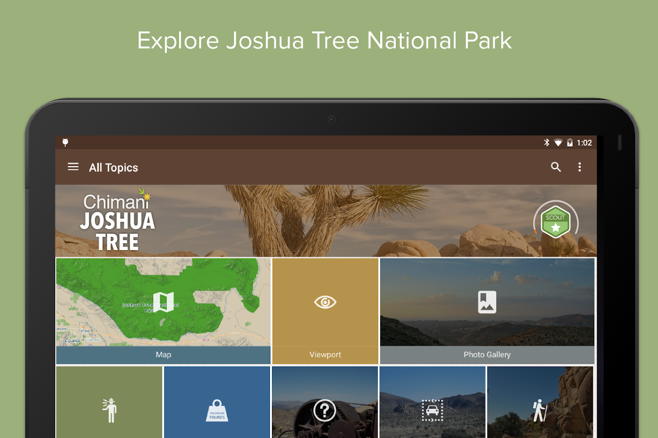 Joshua Tree Ntl Park: Chimani- screenshot