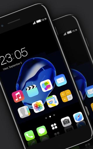 Stylish launcher theme for New iphone 7 2.1.7 screenshots 3