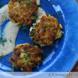 Scalibut Cakes with Caper-Lime Aioli