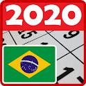 Melhor calendário do Brasil 2020. Gratuito icon