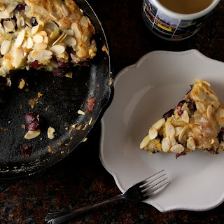 Cherry Almond Breakfast Cake