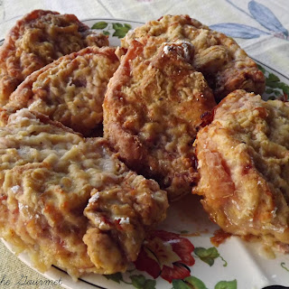 Oven Fried Boneless Pork Chops.