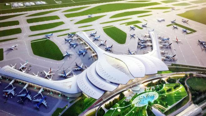 Sân bay Long Thành có mức vốn đầu tư lên tới 16 tỷ USD với quy mô 5.000 ha