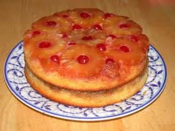 Double Layer Pineapple Up Side Down Cake