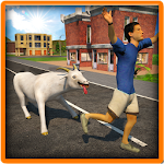 Crazy Goat in Town 3D 1.0 Apk