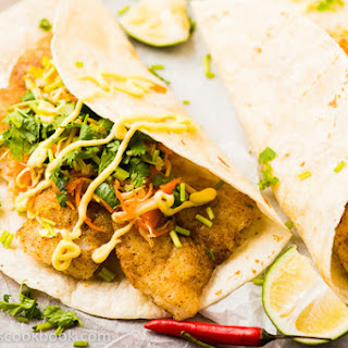 Curried Fish Tacos.