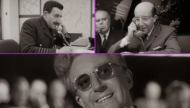 """Photo: Peter Sellers e seus três papéis em """"Dr. Fantástico"""""""