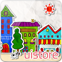 paper town 3Dライブ壁紙 icon