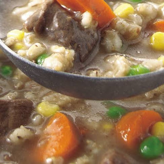 Classic Slow-Cooker Beef and Barley Soup Recipe