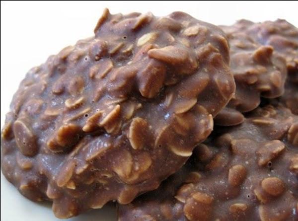 Chocolate Peanut Butter No Bake Cookies Recipe