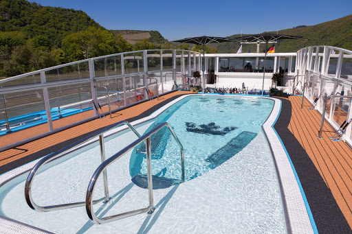 AmaKristina-pool.jpg - The pool aboard the 158-passenger AmaKristina during a European river sailing.