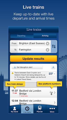 National Rail Enquiries 9.4.8 screenshots 1