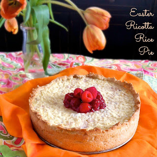 Easter Rice Pie with Raspberry Glaze – #berrylove