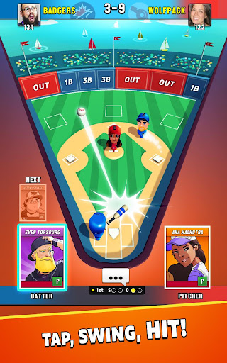 Super Hit Baseball modavailable screenshots 9