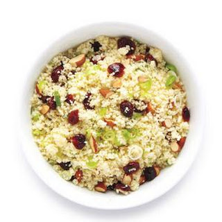 Couscous With Cranberries and Almonds.