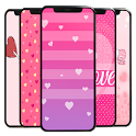 Pink Love Wallpaper icon