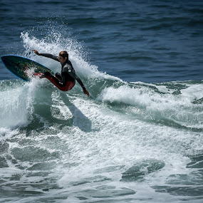 Off The Lip by Jay Woolwine Photography - Sports & Fitness Surfing