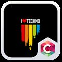 Best Techno Theme C Launcher icon