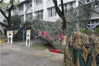 Photo: 國防部「103年全民國防教育暑期戰鬥營」將於6月30日陸續展開,30日特別舉辦示範觀摩,希望參與學子能親身體驗軍旅。(軍聞社記者卓以立攝)