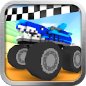 Blocky Monster Truck Racing icon