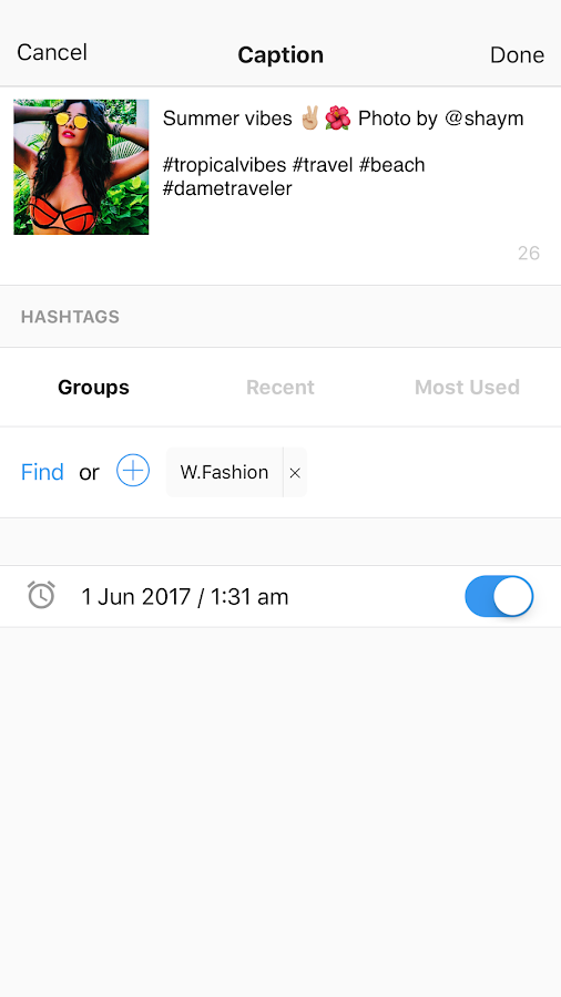 Preview - Plan your Instagram- screenshot